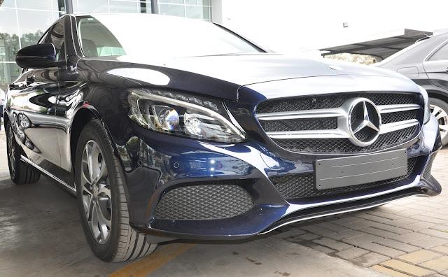 Mercedes C200 2017 có thiết kế ngoại thất trẻ trung, thể thao và cực kỳ năng động