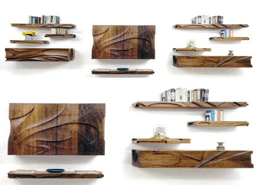 Build wood shelves | Wall mounted wood shelves