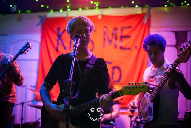 Kiss Me, Killer performing at The Red Lion, Bristol, hosted by Never Fall into Silence Records 9/4/2017