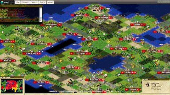 Freeciv 2.5.7 - Δωρεάν παιχνίδι στρατηγικής, εναλλακτικό του Civilization