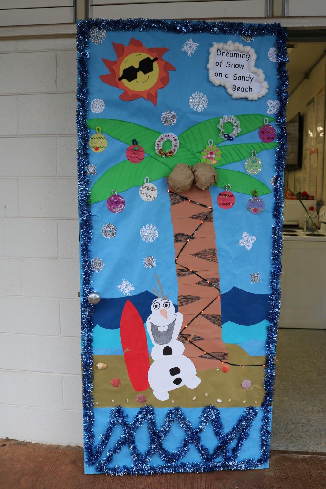 Aiea High School Student Activities: Holiday Door ...