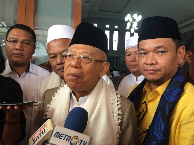 Ma'ruf Nilai Jokowi Telah Berbuat Banyak Untuk Islam, Buktinya Ini