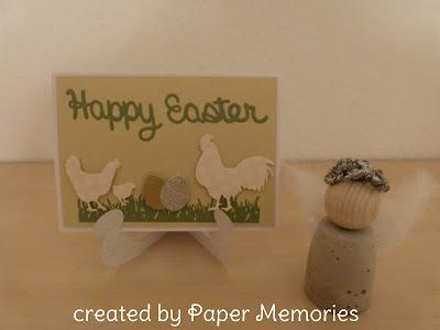 Happy Easter Gockel Huhn Henne Ostern Frohe Ostern