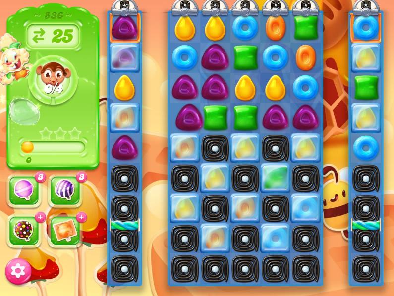 Candy Crush Jelly Saga 536