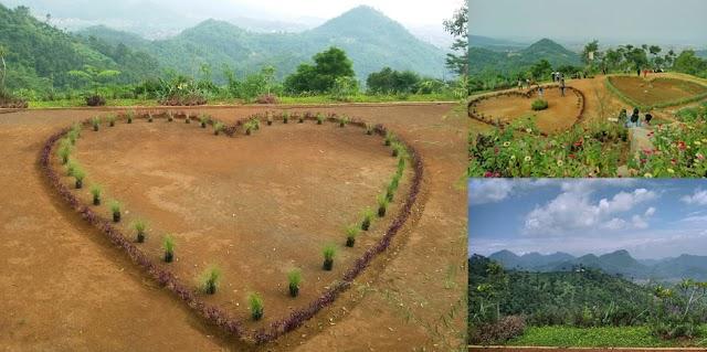 Objek Selfie Romantis di Taman Cinta Villa De Dago's, Sadu, Soreang