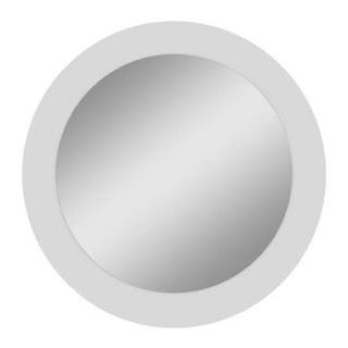 Espelho Redondo de 90 cm. Blog Achados de Decoração