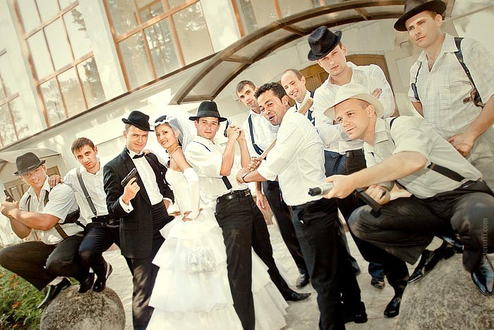 Tbdress Blog Gangster Wedding Theme From The Past Bygone Era