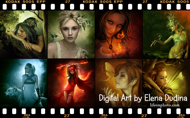 Цифровой арт от Елены Дудиной