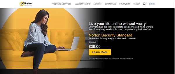 Antivirus terbaik saat ini yang bisa dicoba - Norton