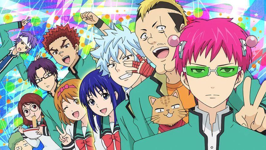Download Saiki Kusuo no Psi Nan Sub indo : Episode 1-24 END