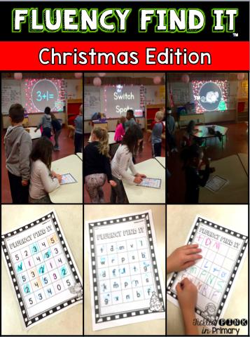 Christmas Fluency Find It