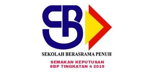 Semakan Keputusan Sbp Tingkatan 4 2019 Online Pendidikan Malaysia