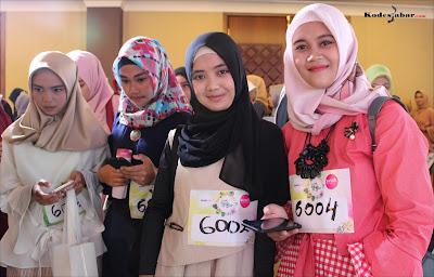 Para mojang Bandung peserta audisi Sunsilk Hijab Hunt 2018