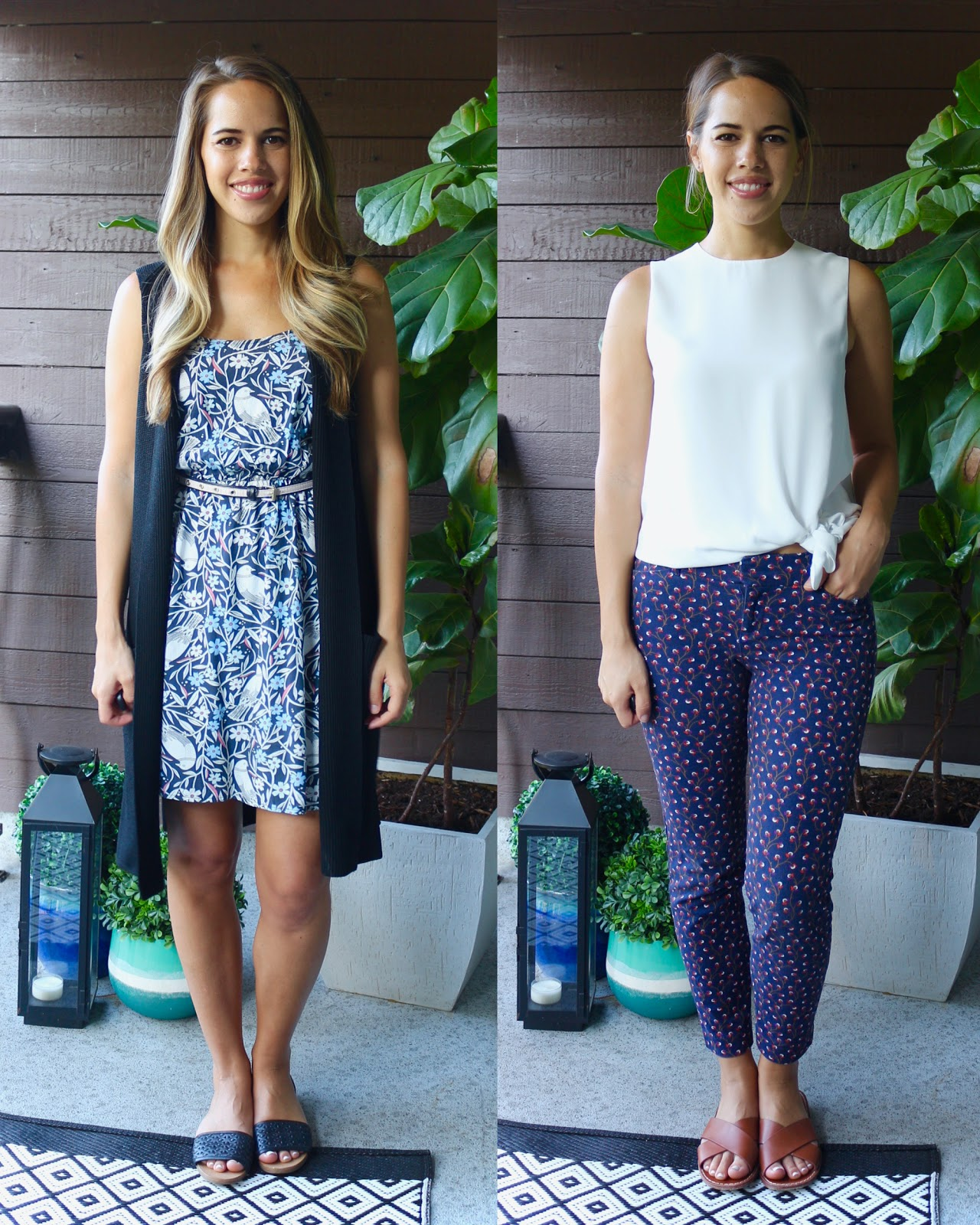 Jules in Flats July Outfits (Business Casual Summer Workwear on a Budget)