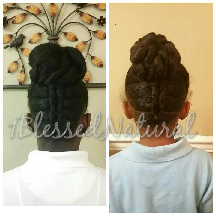 1bn Kids Twin Natural Hairstyles Part 2 From Yesterday
