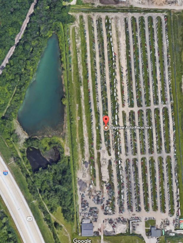 Saginaw Auto Recyclers >> Just A Car Guy Might Be A Mafia Dumping Area A Pond 20 Feet Deep