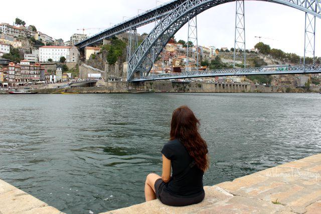 foto puente eiffel oporto