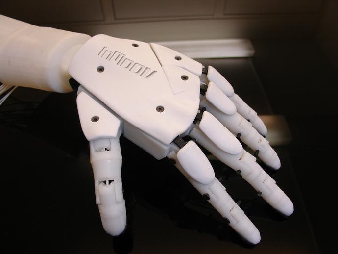 3D프린터로 만든 인공관절손 - 3D Printed Robotic Hand