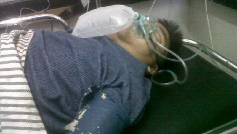Hendrik Ceper kritis di Rumah Sakit Singaparna, Tasikmalaya