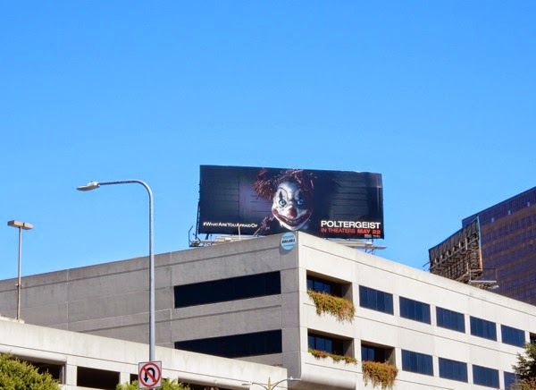 Poltergeist 2015 movie billboard