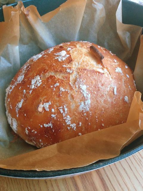 Włoski chleb bez zagniatania / No-Knead Italian Bread