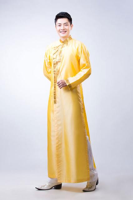thuê áo dài nam đẹp ở Hà Nội