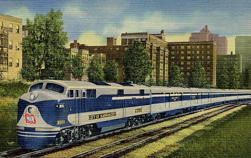 The National Railroad Postcard Museum