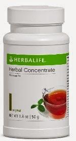 herbal tea concentrate teh herbalife