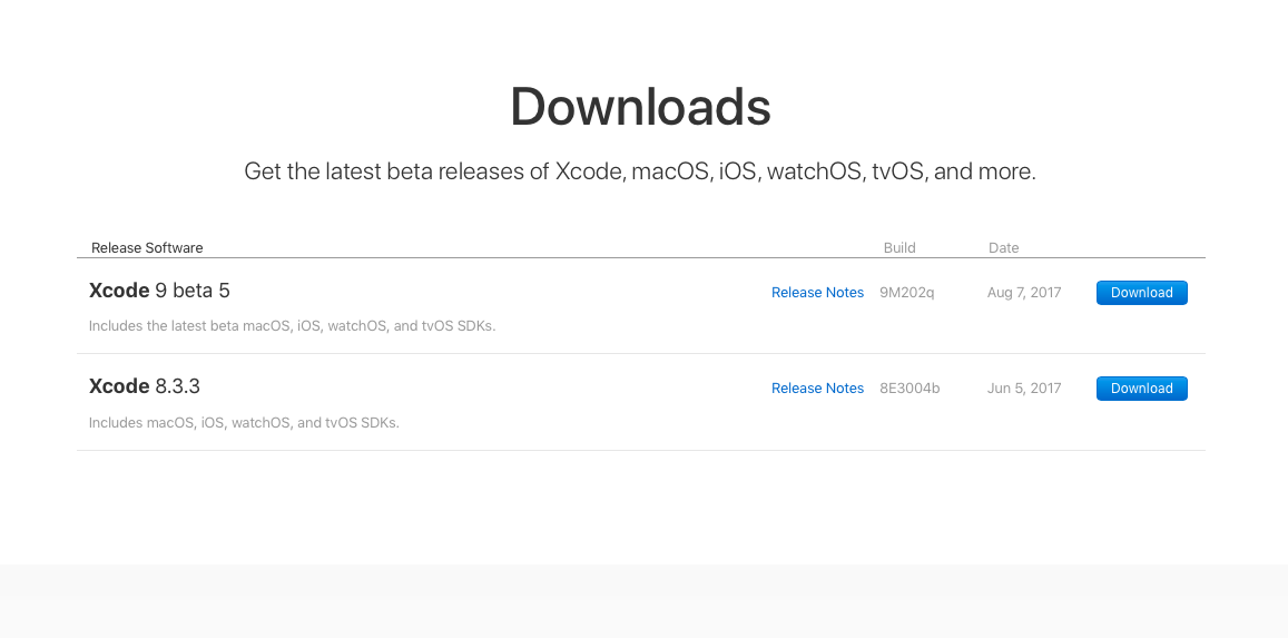 How To Download The Xcode DMG File On Mac For iOS Development