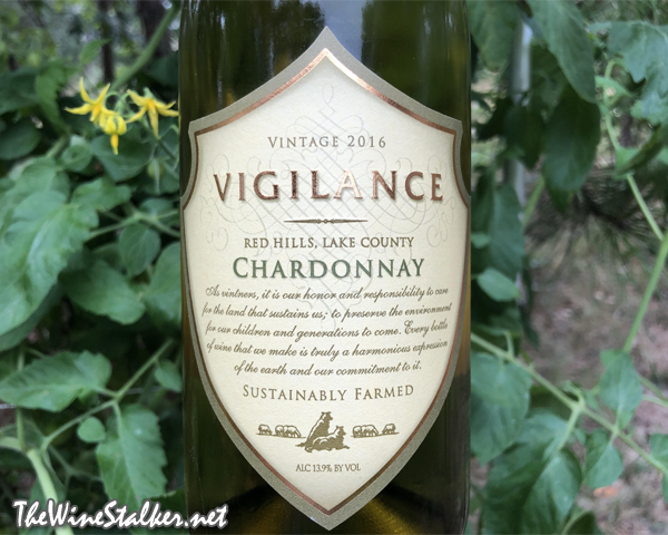 Wine Review: Vigilance Chardonnay 2016