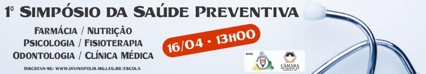 Simpósio da Saúde Preventiva - Inscreva-se!