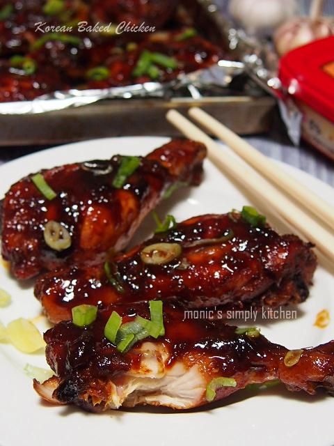 resep ayam panggang korea