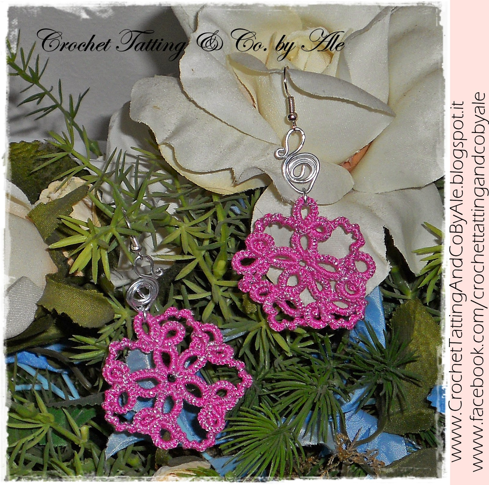 tatting earrings wire