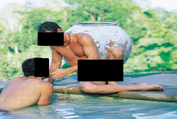 Dihutan, Polisi Berhasil Gerebek Tempat Kumpul Nikmat Kaum Gay di Malang