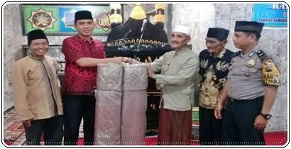 Lurah GP. Andi Amir, SH Safari Ramadhan Di Masjid Ikhlas Tabek Kelurahan Gunung Pangilun