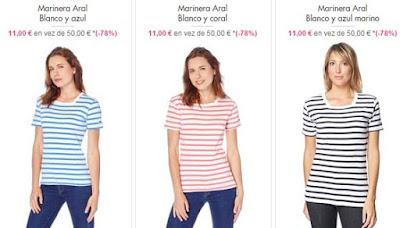 camisetas marineras