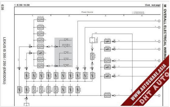 en oto lexus is350 250 2007 wiring diagram. Black Bedroom Furniture Sets. Home Design Ideas