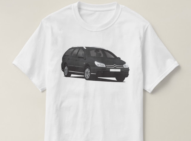 Citroën C5 Break black tees