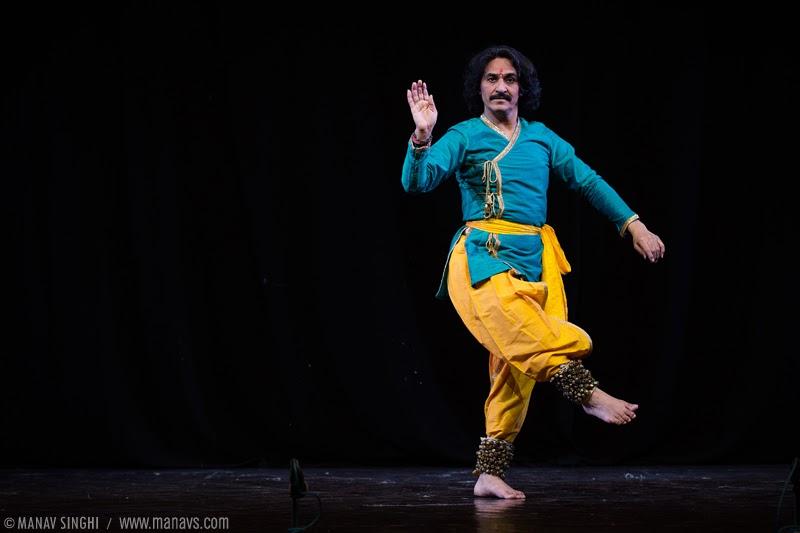 Pt. Rajendra Gangani Kathak Dancer  from Jaipur Gharana
