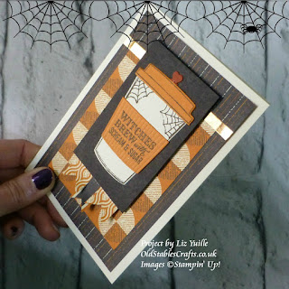 Merry Cafe Spooky Night Stampin Up Halloween Card