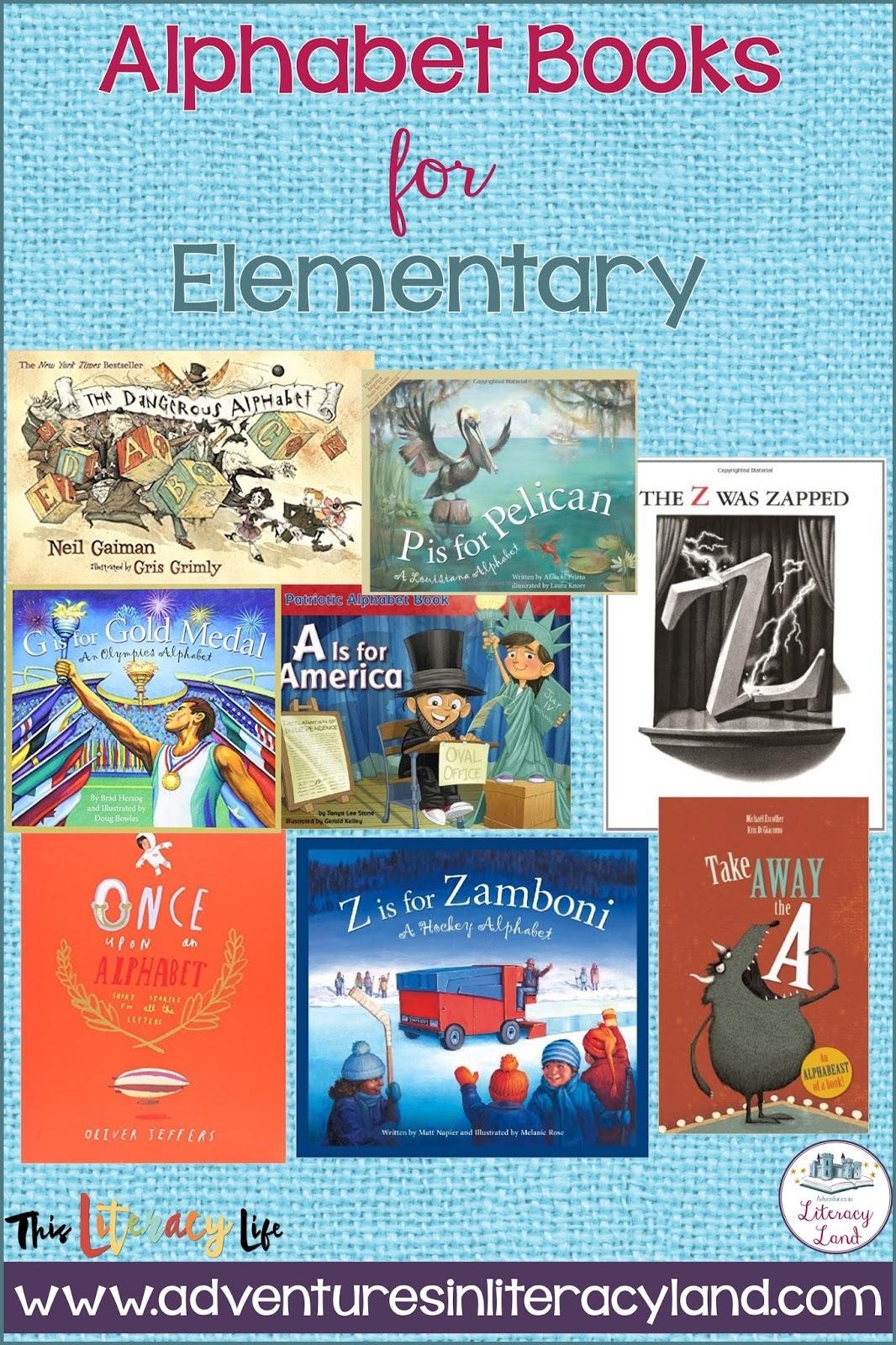 Books About Alphabet Letters