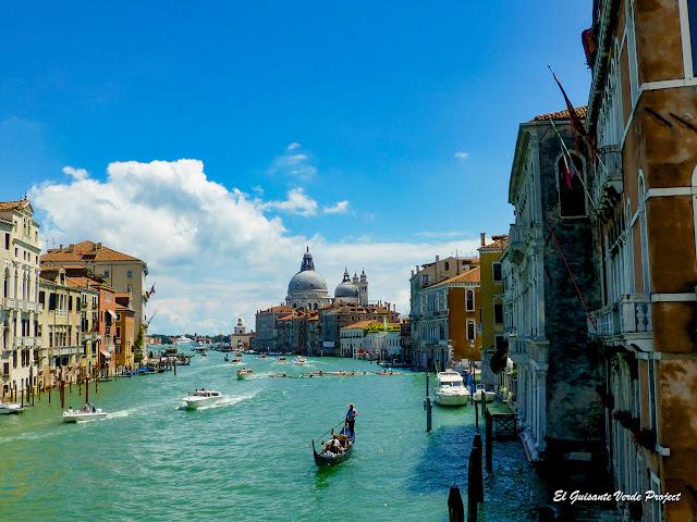 Canal Grande de Venecia por El Guisante Verde Project