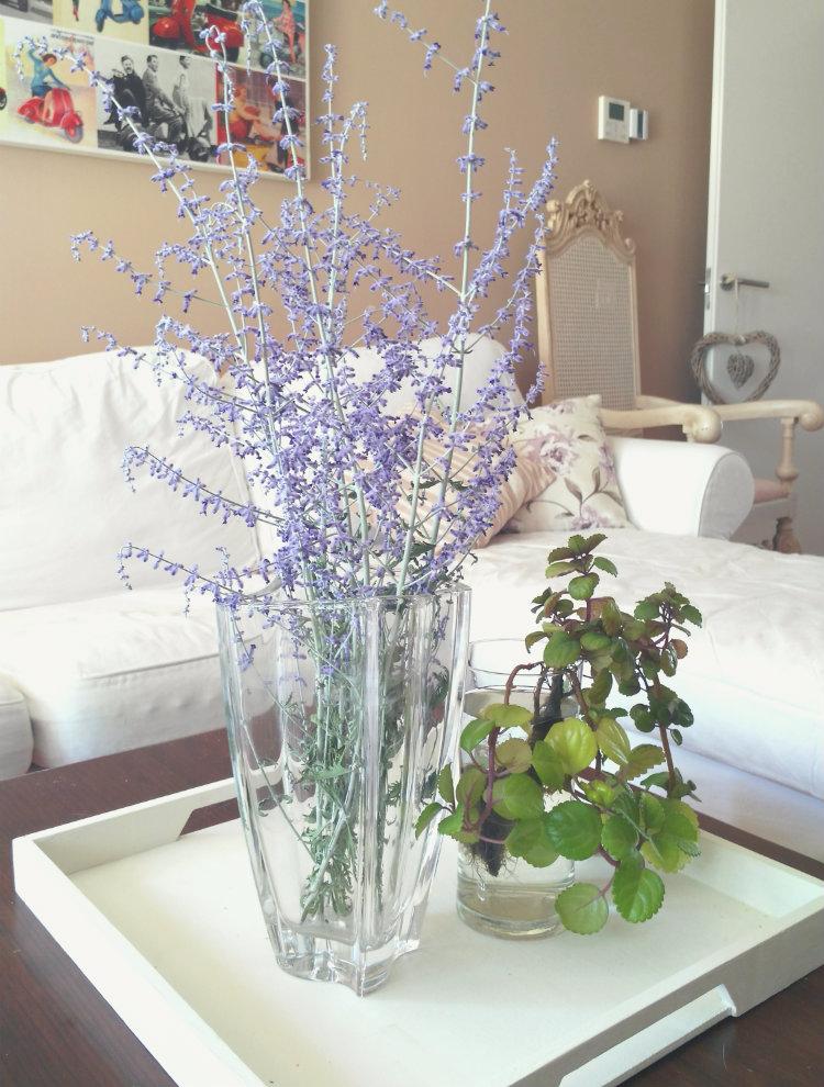 Decorar con flores la casa