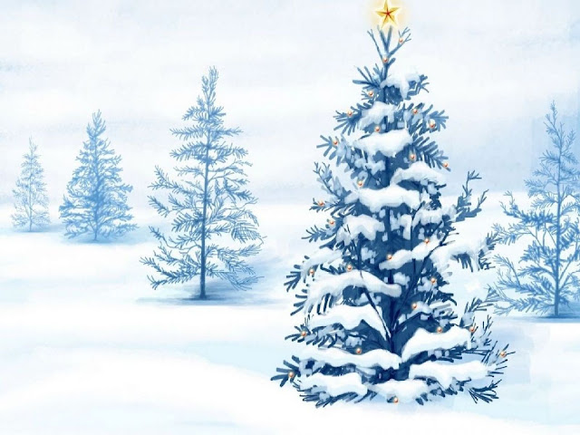 white Christmas tree decorations ideas wallpaper