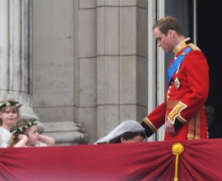Balcony, Prince William wedding, UK