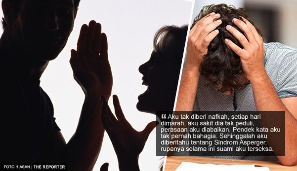 sindrom asperger perosak senyap rumah tangga wanita kongsi