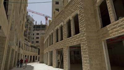 Los palestinos se mudan a otra ciudad, parte del sueño estadidad