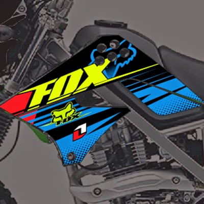 klx fox cross bengkeldecal.com