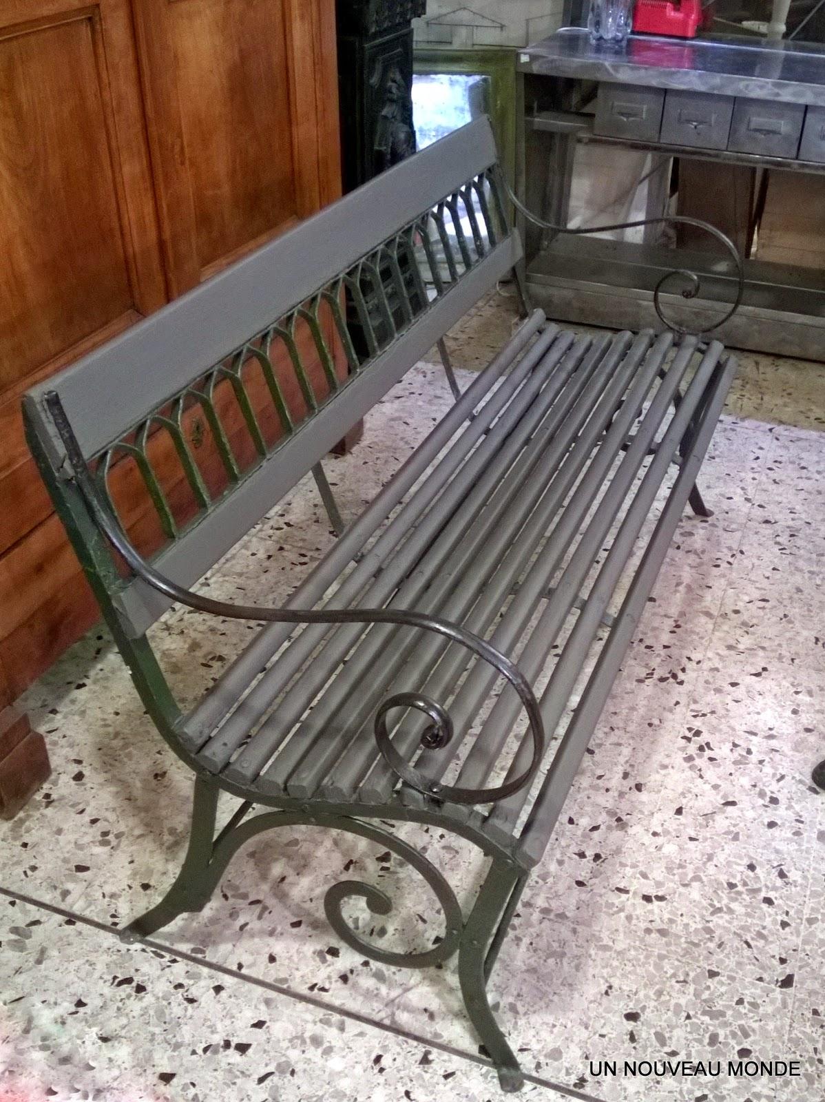 Fauteuil De Jardin Bois Et Fer Forge | Fauteuil Rocking Chair Design ...