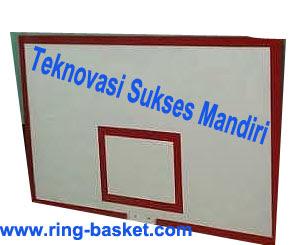 Papan Pantul Basket - Fiber